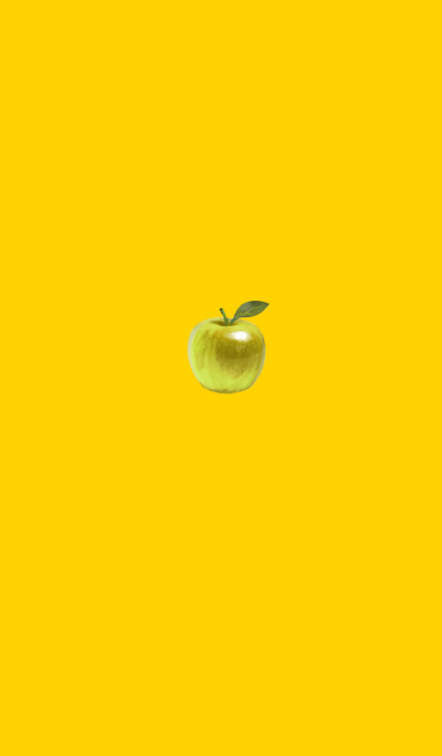 Simple Yellow Apple