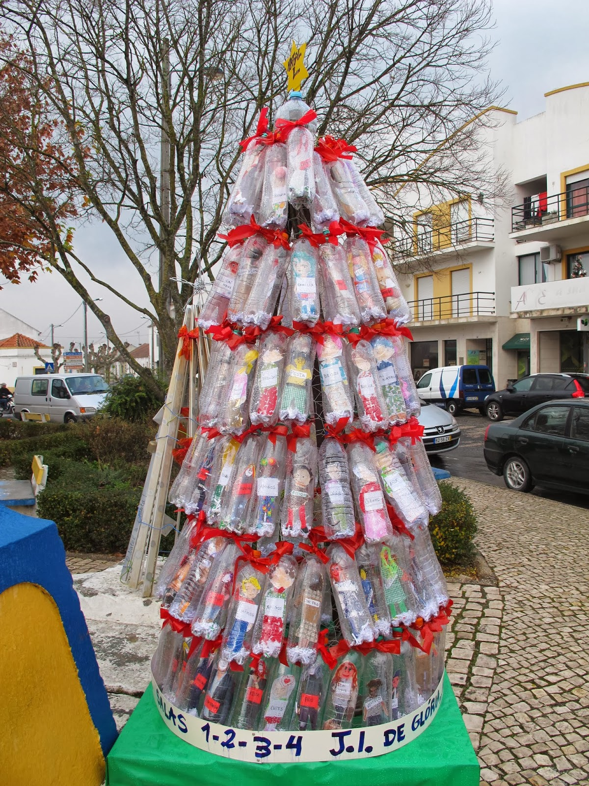 Xmas Recycled Decoration