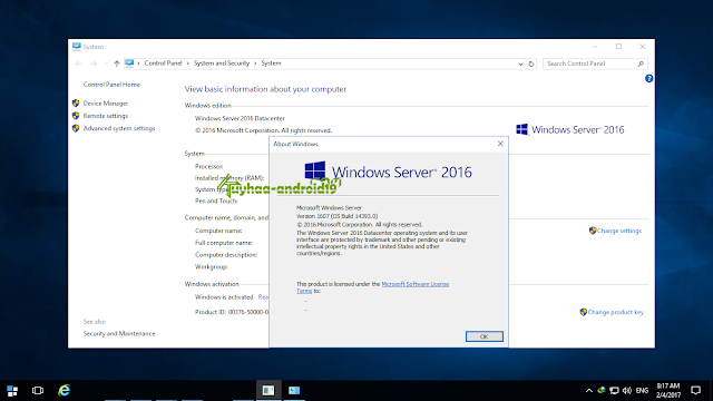 Windows Server 2016 RTM kuyhaa