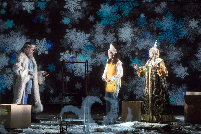 Rimsky Korsakov - The Snow Maiden - Opera North - James Creswell, Aoife Miskelly, Yvonne Howard - photo Richard Hubert Smith