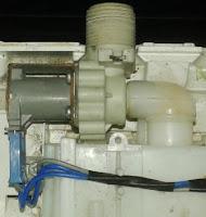 válvula de entrada de agua en lavadora LG automática