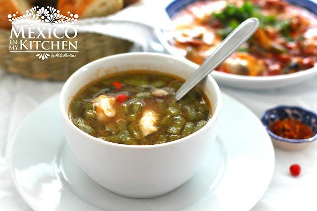 Nopal soup Nopales navegantes
