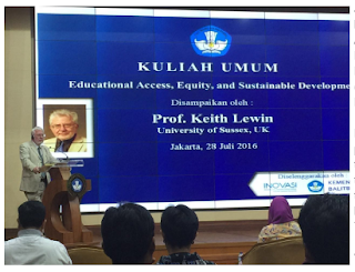 Kuliah Umum Diselenggarakan Oleh Kemdikbud dan INOVASI (Innovation for Indonesia's School Children), Australia Indonesia Partnership