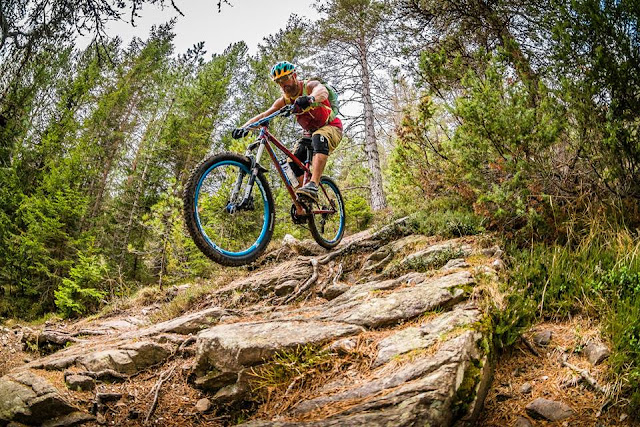 Mountainbiken Bozen Ritten Trail Nr. 9 mtb