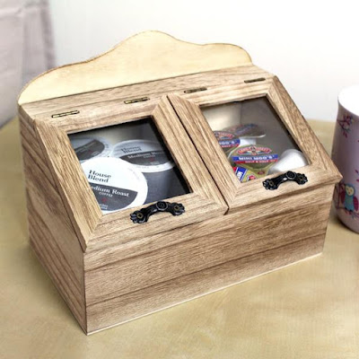 The Wooden Kitchen Storage Chest Box from Nile Corp is perfect not only for your kitchen