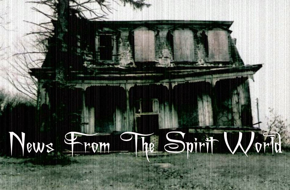 News From The Spirit World.Com