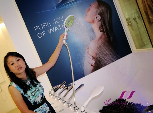 grohe hand showers pure joy of water