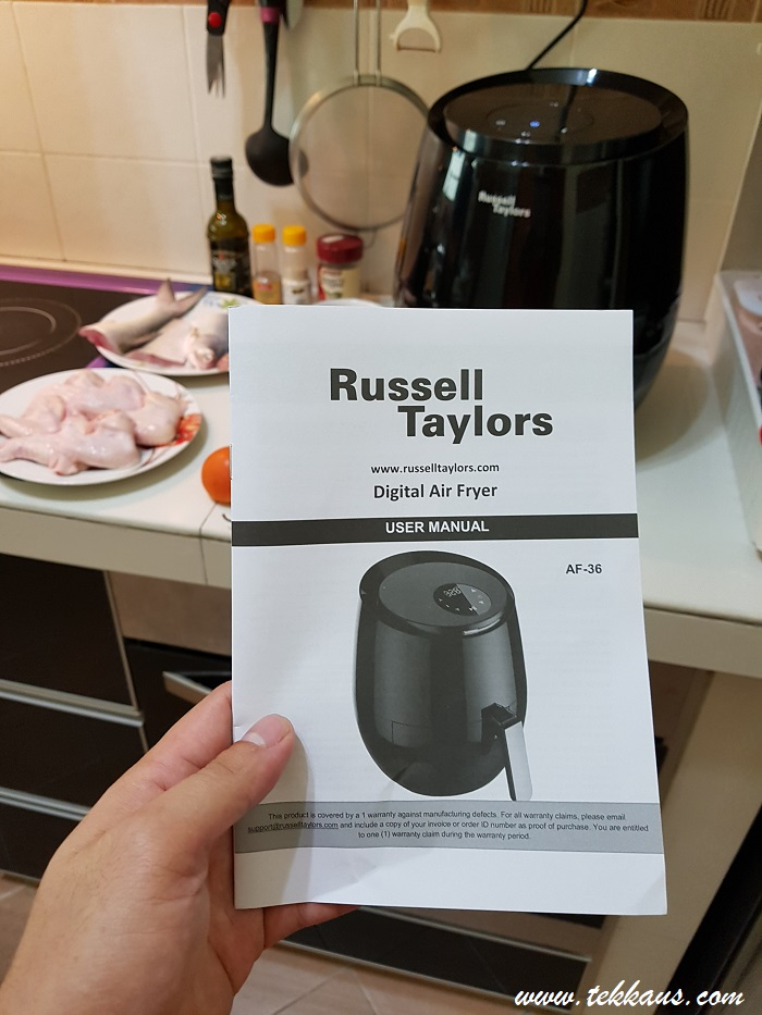 How to cook with Russell Taylors Air Fryer-My Honest Review