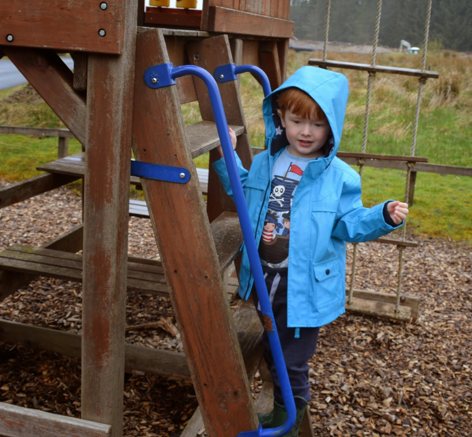 Children's park at the Calvert Trust, Kielder