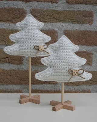 Stip Haak Kerstboompjes