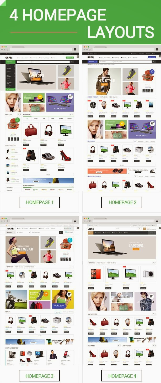 Best Multipurpose Responsive Magento Theme 2015