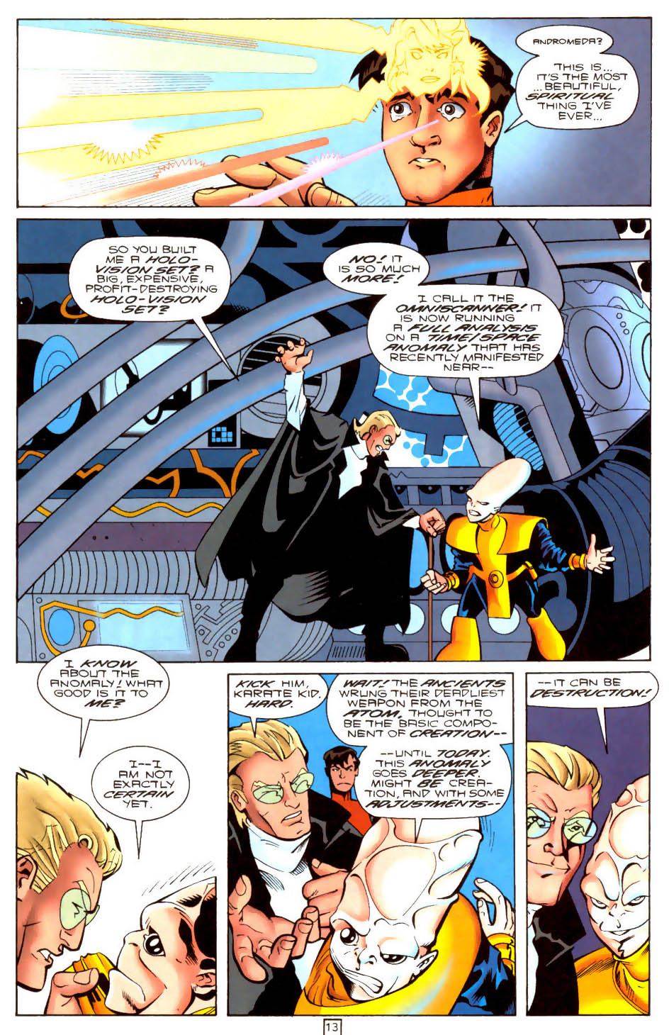 Legion of Super-Heroes (1989) 103 Page 12