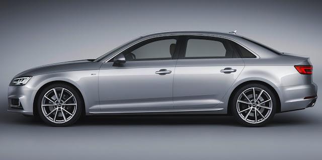 2017 Audi A4 silver