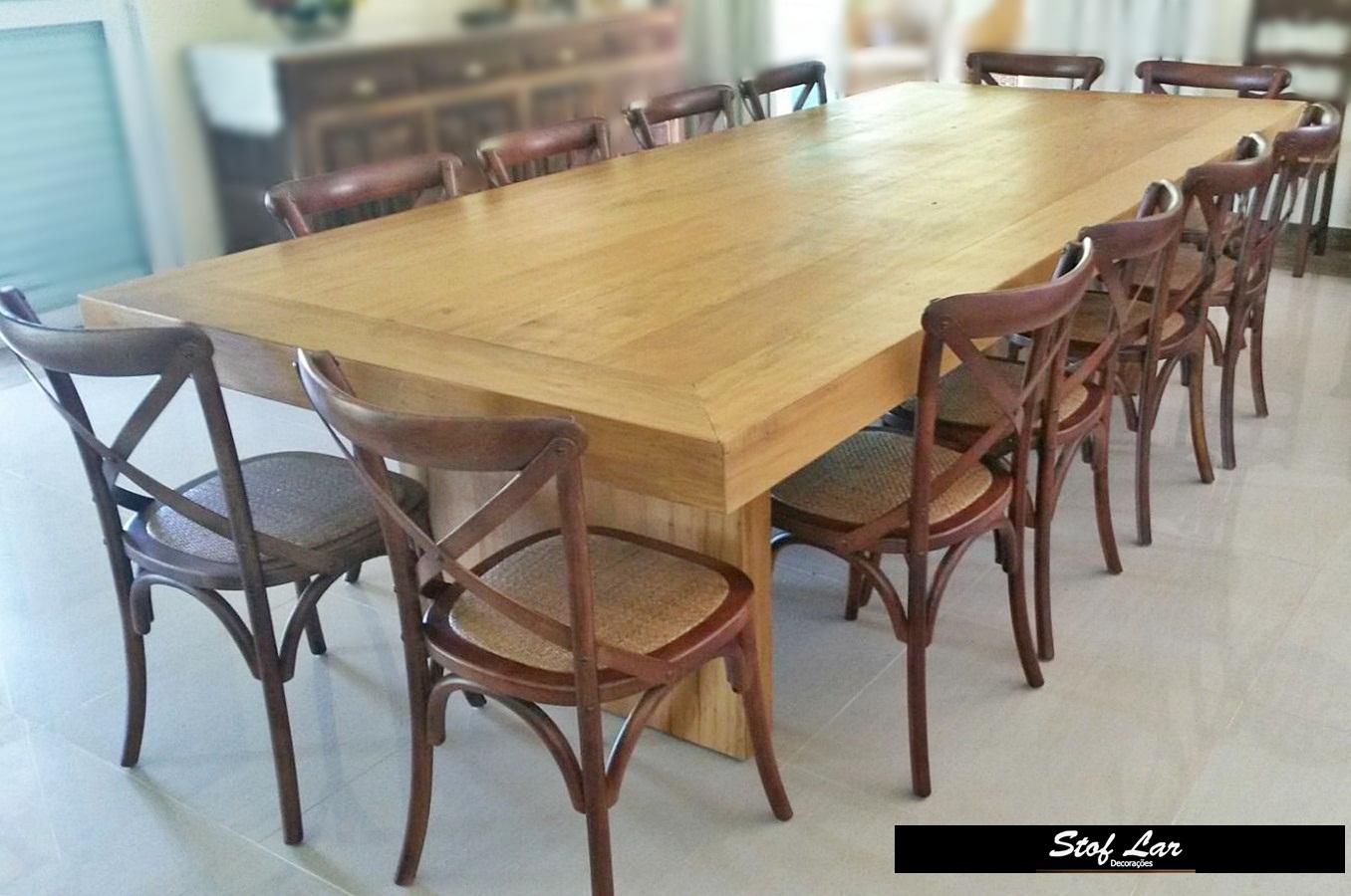 Mesa Retangular modelo Caixa feita de madeira de peroba rosa produto  #896F42 1356x900