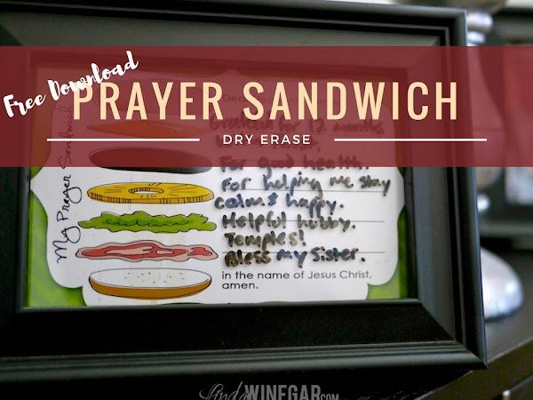 5x7 Prayer Sandwich