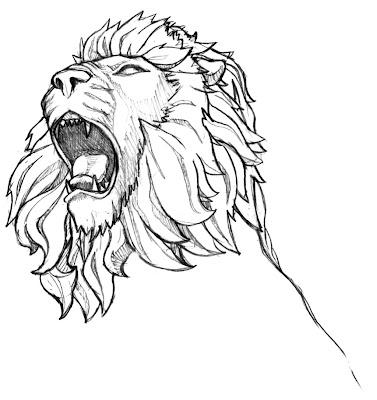 inkspired musings: Roaring like a lion?