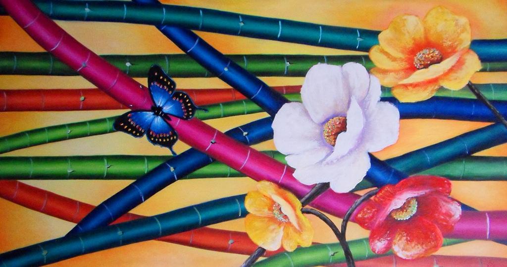 Flores Oleo Modernas Cool Full Size Of Cuadro Pintado Al Oleo
