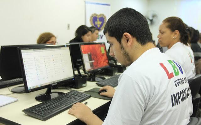 Resultado de imagem para LBV Belford Roxo oferece 80 vagas gratuitas para curso básico de Informática