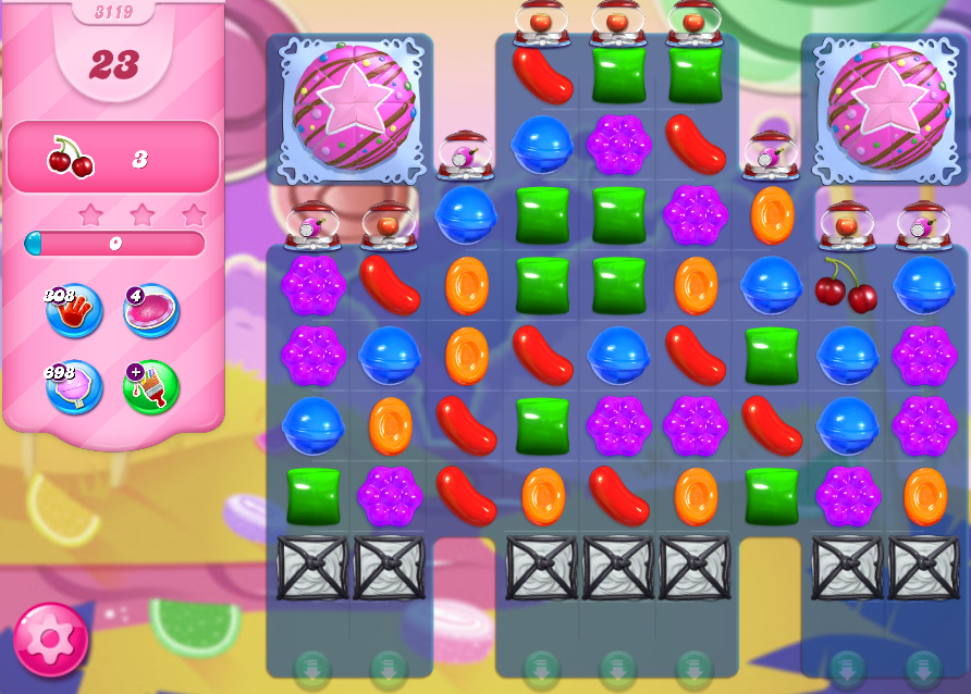 Candy Crush Saga level 3119