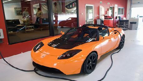 Tesla cars power on grid,