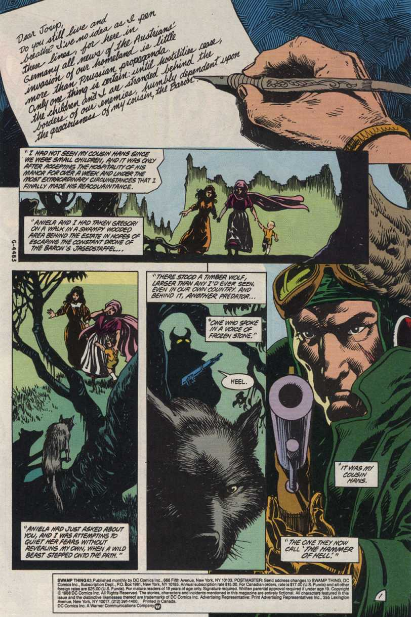 Swamp Thing (1982) Issue #83 #91 - English 2