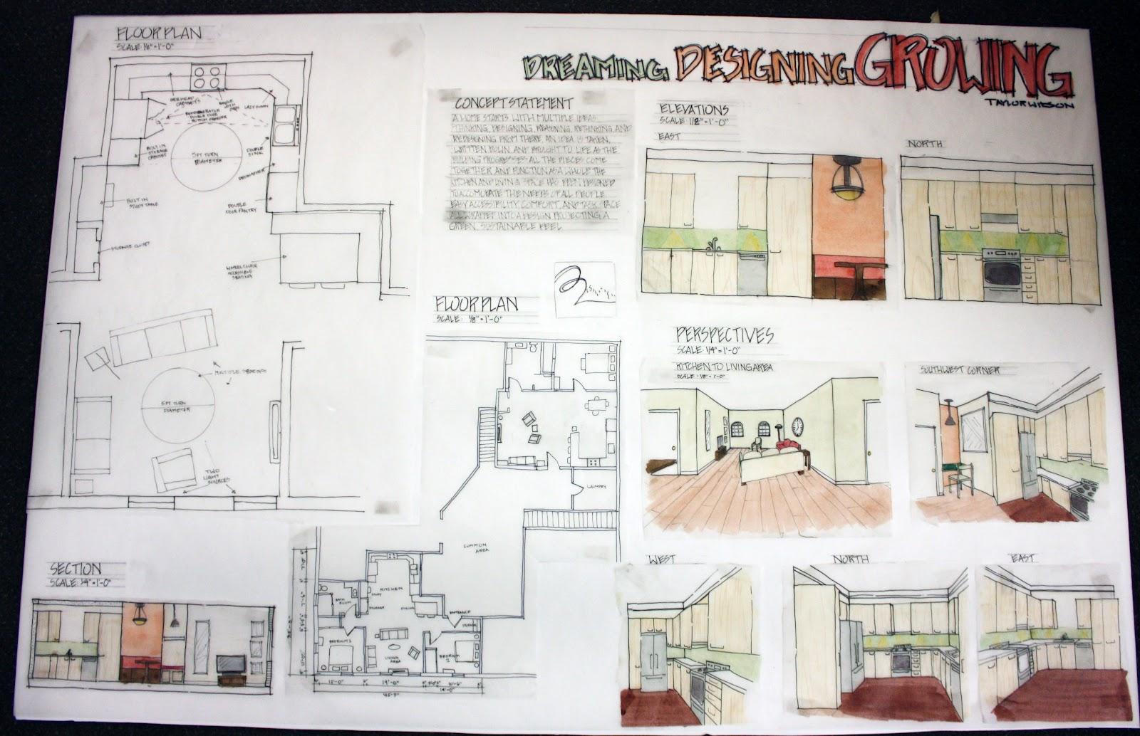 Interior Design Portfolio For Job Interview Architectural ...