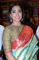 Shriya Saran Looks Stunning in Silk Saree at VRK Silk Showroom Launch Secundrabad ~  Exclusive 007.JPG