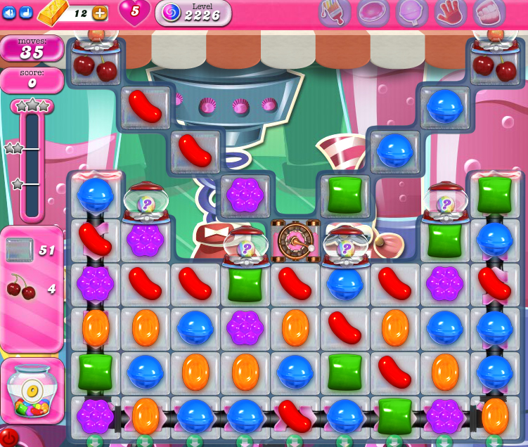 Candy Crush Saga level 2226