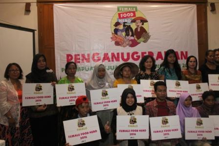 Oxfam kukuhkan 9 Perempuan Pejuang Pangan
