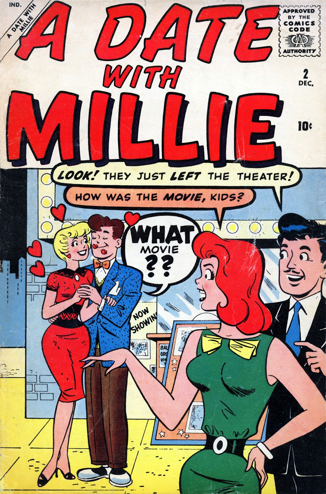 A Date with Millie (1959) issue 2 - Page 1