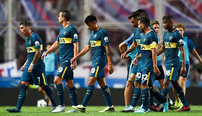 Boca Juniors vs Temperley