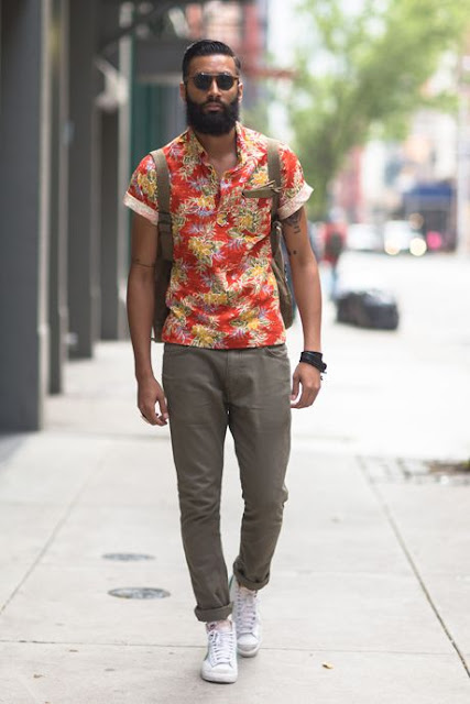 floral masculino