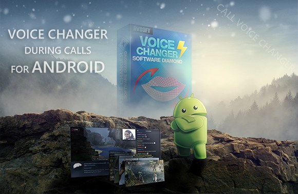 Voice Changer During Call for Android from PC to Phone