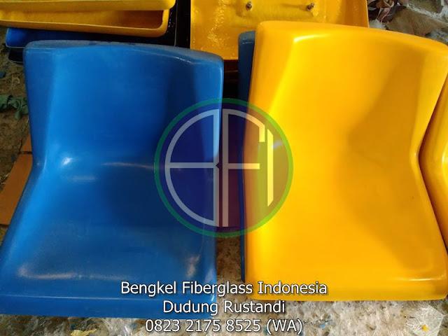 desain kursi fiber untuk stadion