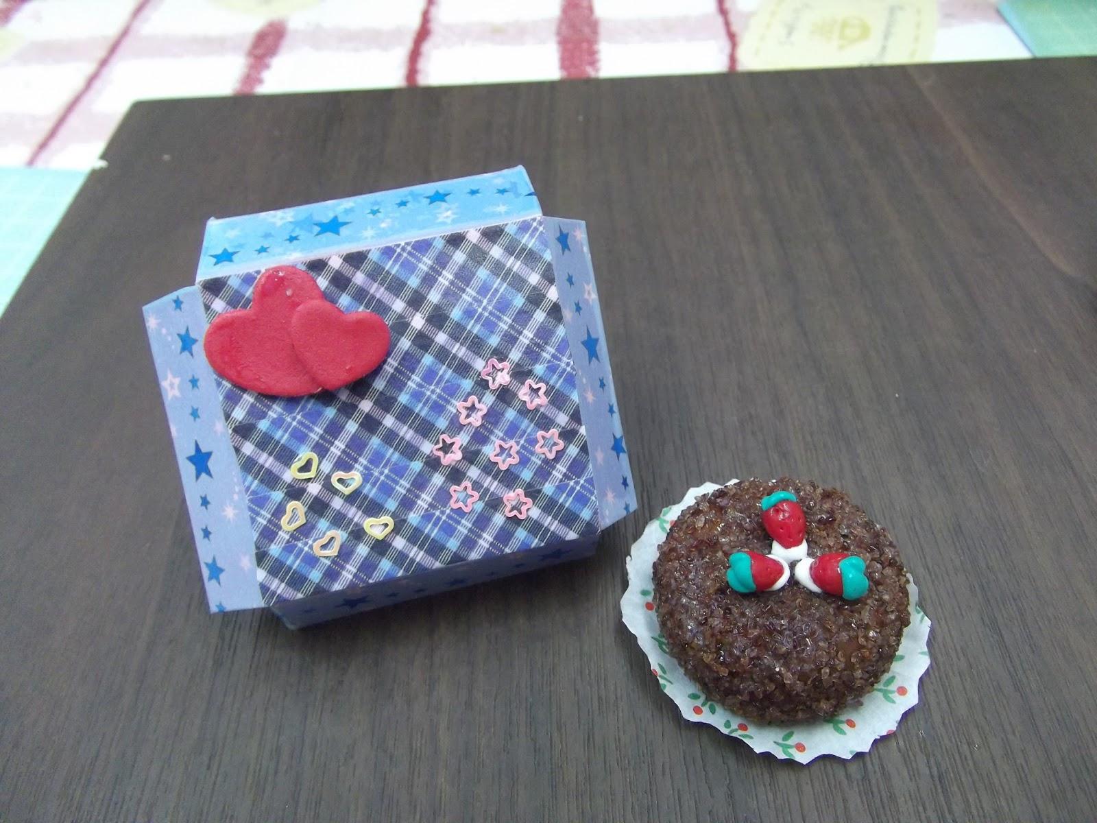 Design Your Own Cake Box : Kin  Miniature Workshop Handmade Clay Food by Kin Quek ...