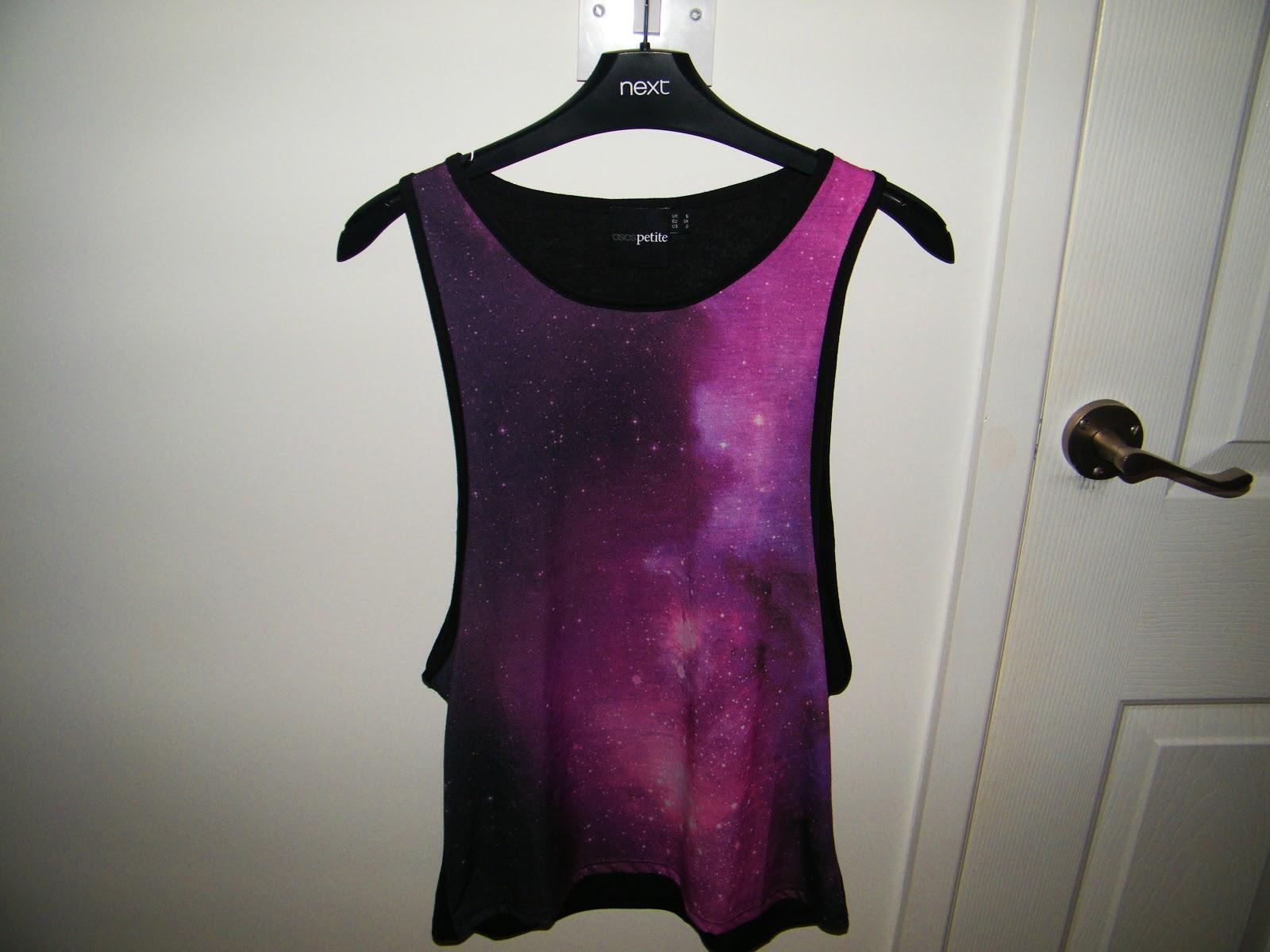 ASOS Galaxy Vest