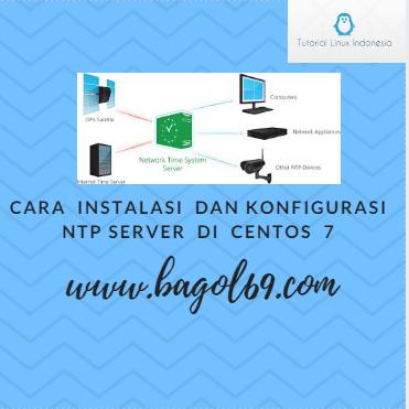 Instalasi  dan  Konfigurasi  NTP  Server  Di  Centos  7
