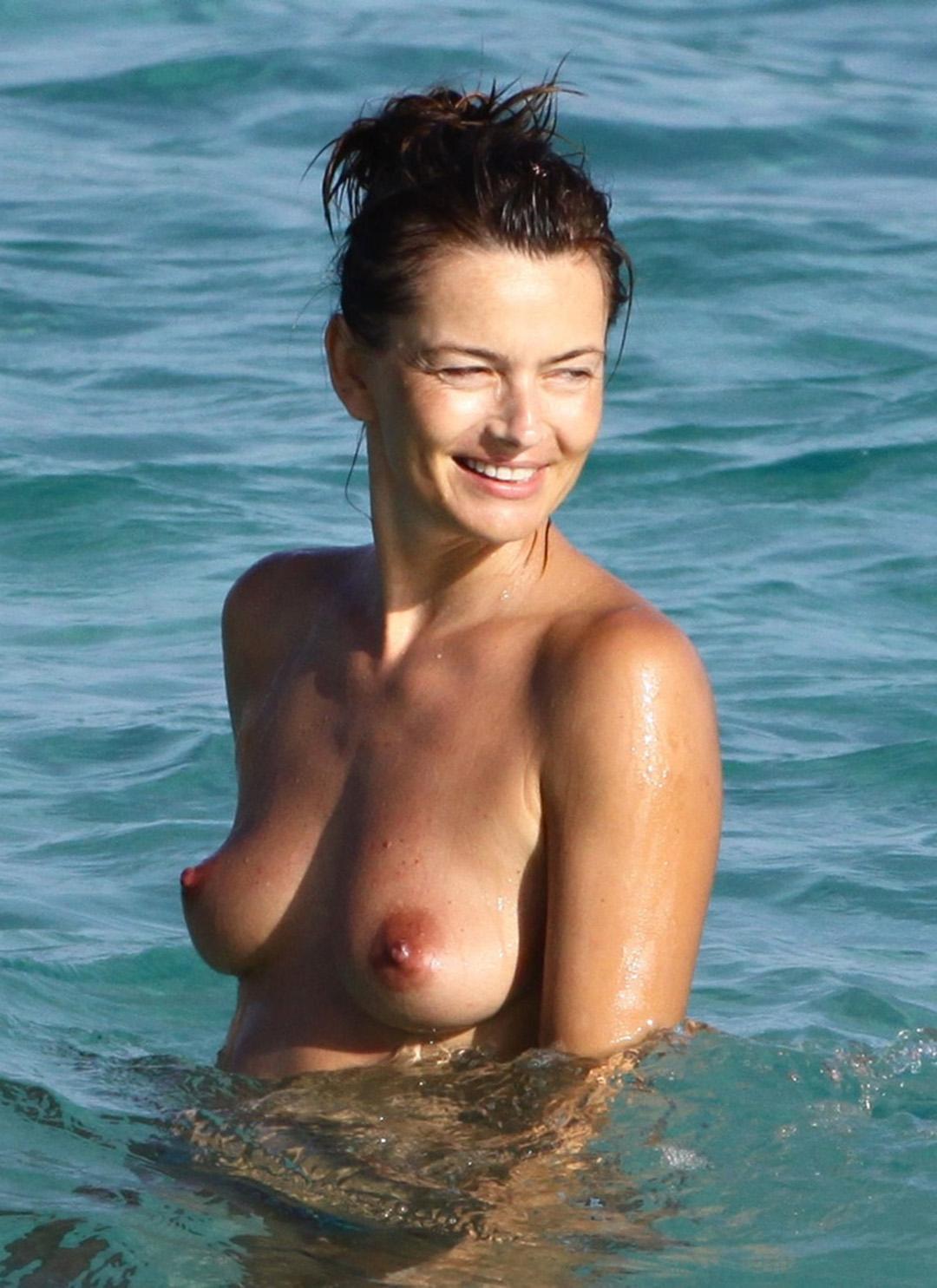 Celebrity Nude Century Paulina Porizkova 80S Super Model-9050