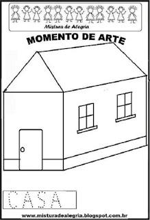 Projeto Pátria, desenho de casa