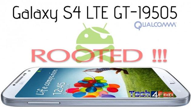 Como fazer o root no Samsung Galaxy S4 4G LTE GT-I9505 com Android 4 2 2