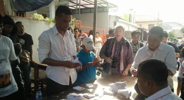 Ahok Menang di TPS Habib Rizieq Mencoblos