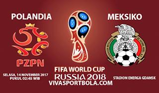 Prediksi Polandia vs Meksiko 14 November 2017