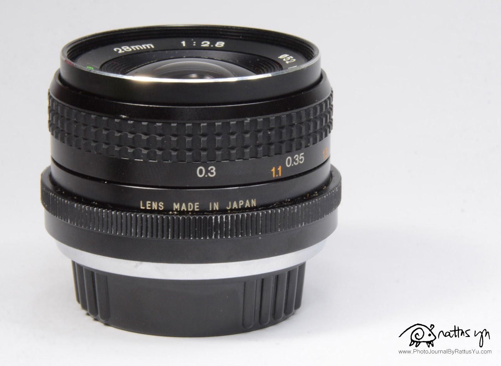 Tokina RMC 28mm f/2.8