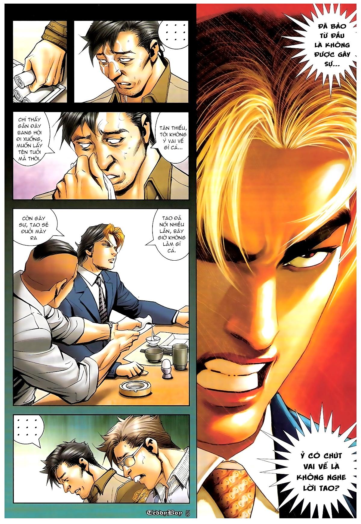Người Trong Giang Hồ - Chapter 1244: Mắt Hí - Pic 4