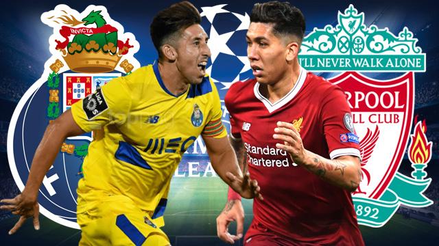 Prediksi Tepat Liga Champions Porto vs Liverpool (18 April 2019)