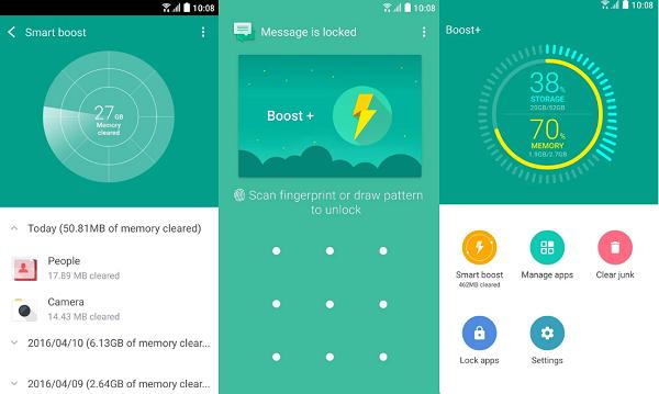 تطبيق Boost+ لتسريع هاتف الأندرويد وحل جميع مشاكله