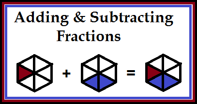 Fraction Quizzes: Adding and Subtracting - Classroom Freebies
