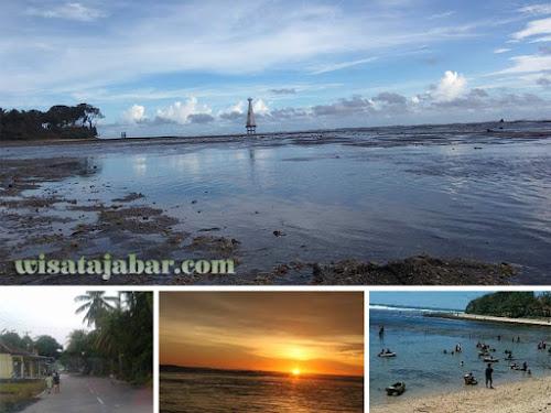 Pantai Sindangkerta Cipatujah Tasik