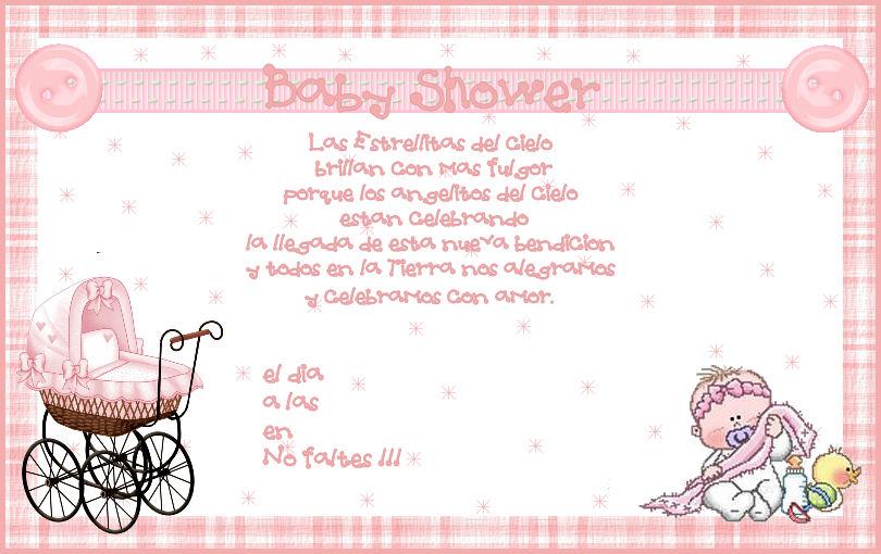 Poemas Para Poner En Una Invitación De Baby Shower Imagui