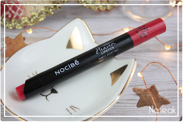 Heaven Lipstick de Nocibé Take in red